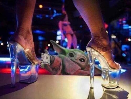 Baby Yoda StripClub